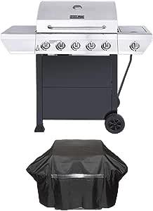 Amazon.com: Nexgrill 5-Burner Propane Gas Grill in ...