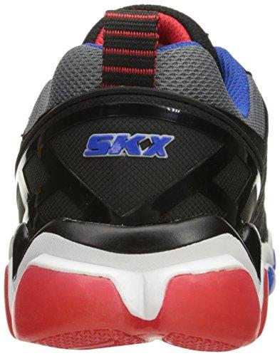 Skechers Kids Kids Skech-Air 3.0-Downplay Sneaker Black/Red/Blue