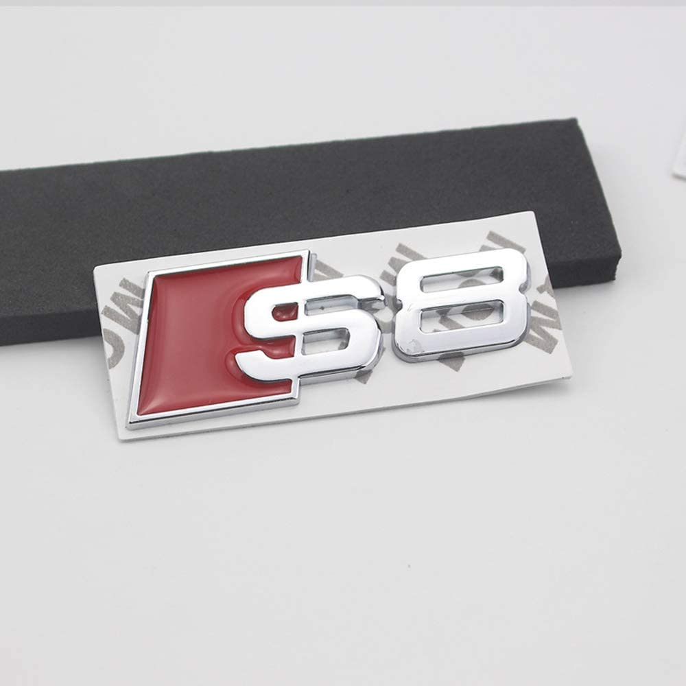 Metal Sticker Vehicle-Logo Badge Car Emblem for Audi BOLLAER Car Styling S3 S4 S5 S6 S8 Metal Emblem Car Accessories for Audi