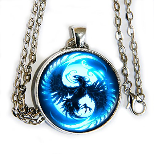 Fangirl Halloween Costumes (Phoenix - Blue ice - pendant necklace - HM)