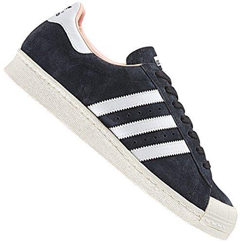 ADIDAS ORIGINALS SUPERSTAR anni '80 HALFSHELL sneaker in pelle scarpe