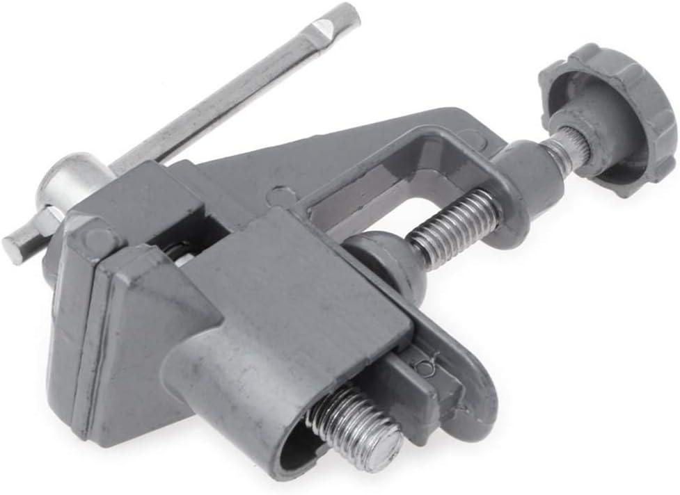 YINJIESHANGMAO Fixed Screw Vice Mini Clamp Table Vise Tool Suction Aluminium Alloy Building
