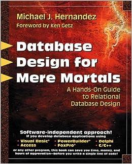 Pdf mere 3rd for edition mortals database design