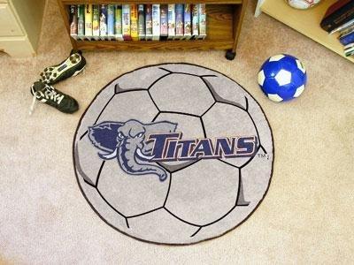 Cal State Ball Fullerton Soccer - Cal State - Fullerton Soccer Ball Rug