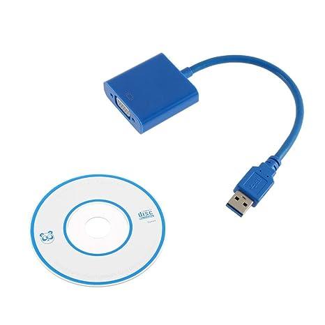MXECO USB 3.0 a VGA de múltiples Pantallas Adaptador ...