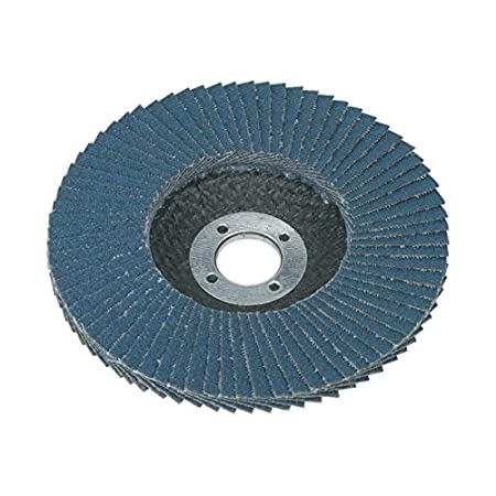 Sealey FD10060 Flap Disc Zirconium Ø 100mm 16mm Bore 60Grit