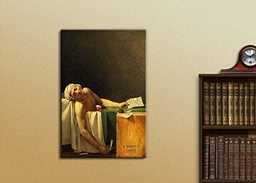 The Death of Marat by Jacques Louis David Print Famous Painting Reproduction