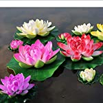 DishyKooker-5pcslot-Artificial-Foam-Lotus-Flowers-Fake-Bouquet-for-Wedding-Decoration-Fish-Tank-Floating-Water-Simulation-Lily-Lotus-Purple-11cm-One-Size
