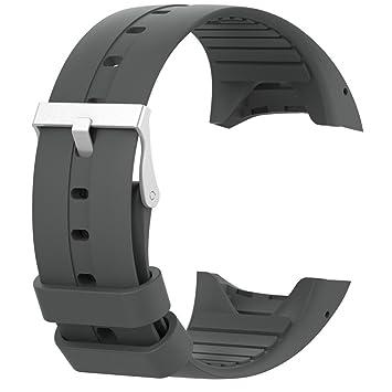 QHJ Reloj de pulsera para Polar M400 M430, silicona reloj banda con cierre rápido para