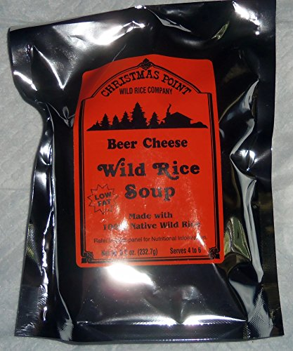 Minnesota Wild Rice Beer Cheese Soup Mix from Christmas Point (Best Beer For Beer Cheese Soup)