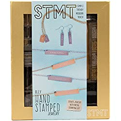 STMT Pretend Play Hand Stamped Jewelry by Horizon Group USA Arts and Crafts Activity Kit