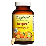 MegaFood – Complex C, Supports Immunity and Well-being with Rosehips and Orange, Vegan, Gluten-Free, Non-GMO, 90 Tablets (FFP)