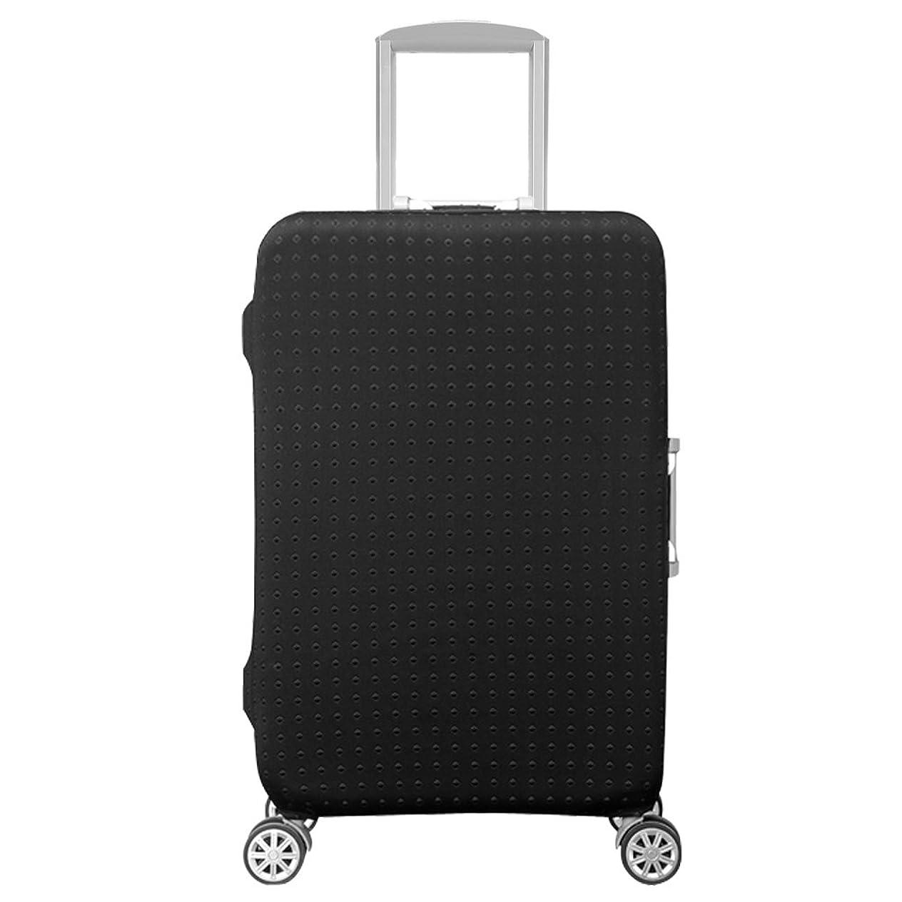 八説得力のある支援するスーツケースカバー 伸縮素材 オリジナルデザイン
