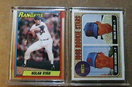 Nolan Ryan 1990 Topps Doubleheader 1968 Rookie Texas Rangers (Rangers Nolan Texas Card Ryan)