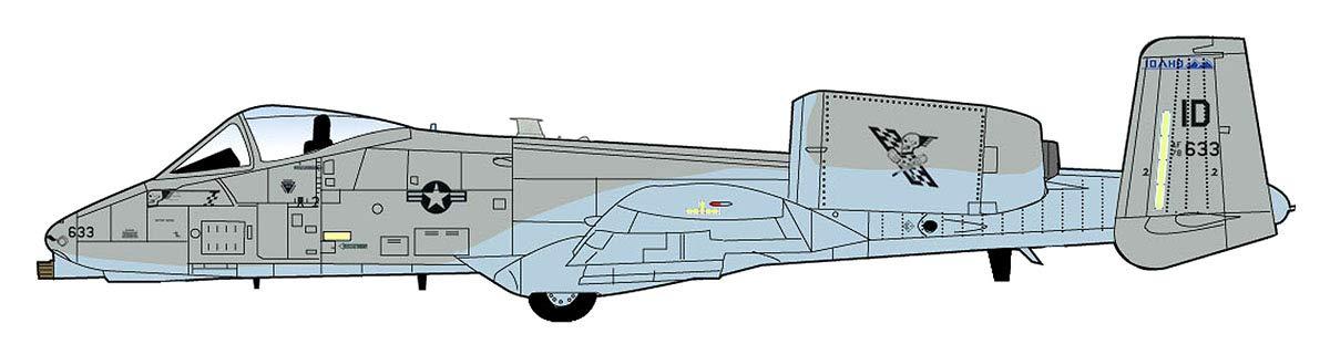 HOBBY MASTER 1/72 A-10C ウォートホッグ 第190戦闘飛行隊 2016 完成品 B07K7TJJHZ