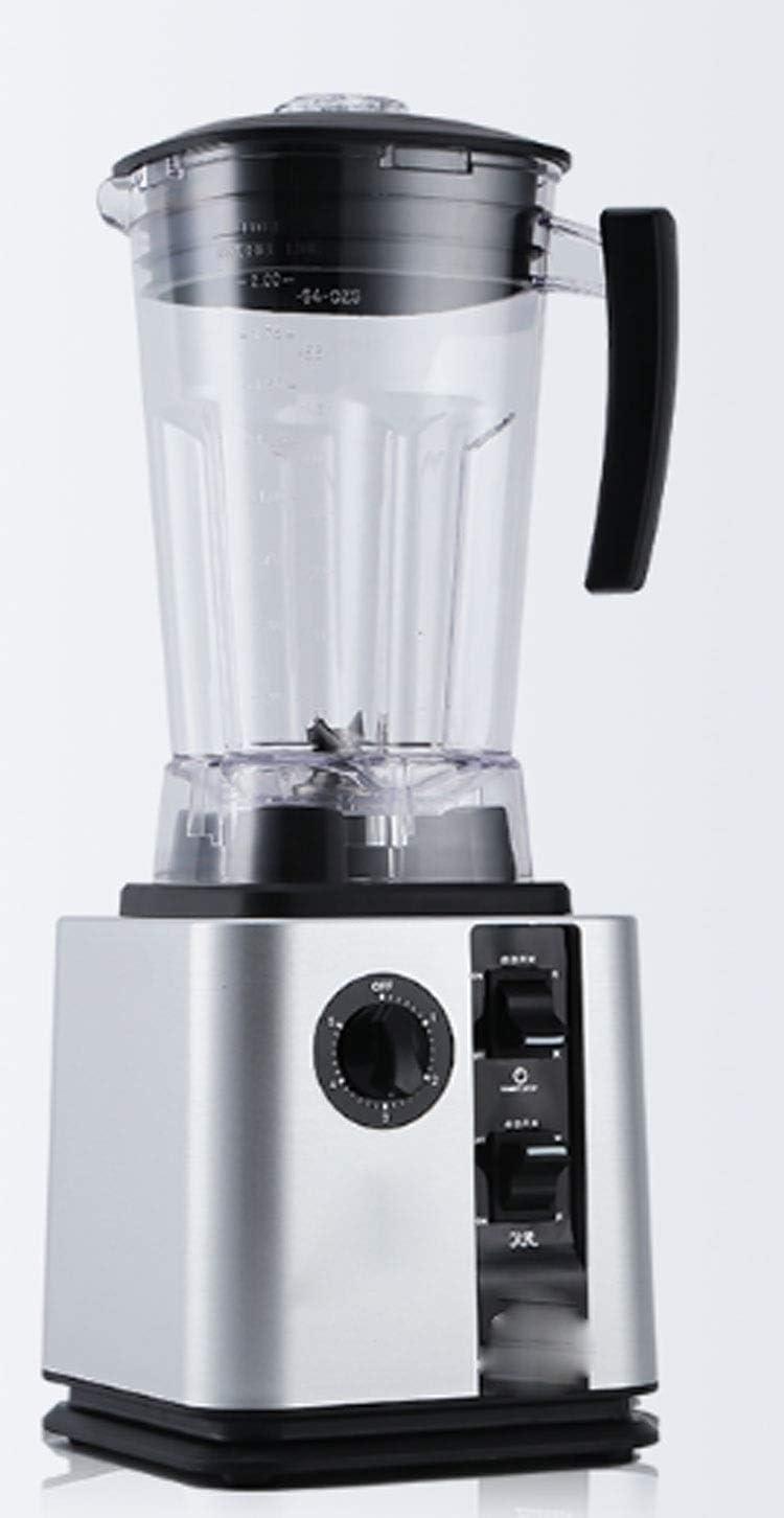 Lce blender cocktails Professional Blender, Countertop Blender 1500W, High Power Blender with High Speed, for Crusing Ice, Frozen Desser, Soup (Color : Silver)