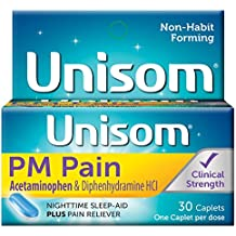 Unisom PM PAIN, 30-Sleepcaps