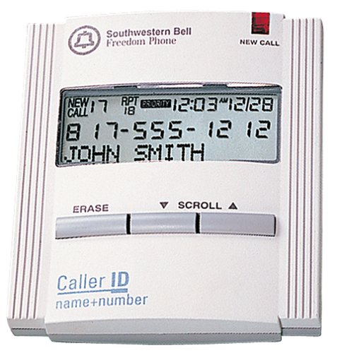 Southwestern Bell FM112 Caller ID Unit (White) (Id Display)