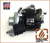 TZ1155-B MADE IN USA Thermal Zero 2500°F Wrap around Turbo Blanket - Black + Compatible with most OEM Subaru VF series turbochargers + replacement for turbo heat shield