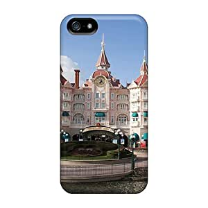 Luoxunmobile333 Vll39533CFLa Protective Cases For Case Samsung Galaxy S5 Cover(disneyl Paris Castle Hotel)