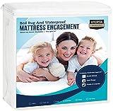 Best Bed Bug Mattress Covers - Utopia Bedding Zippered Mattress Encasement - Bed Bug Review