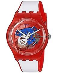 Swatch Unisex SUOR102 Originals Analog Display Swiss Quartz White Watch