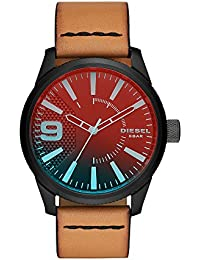 Men's DZ1860 Rasp NSBB Analog Display Quartz Grey Watch