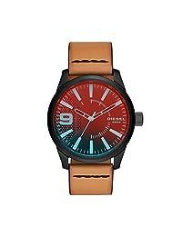 Diesel DZ1860 Rasp NSBB Reloj analógico de cuarzo gris para hombre