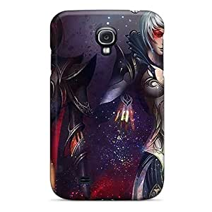 QMJ8273eLoN WhRivera Awesome Case Cover Compatible With Galaxy S4 - Fantasy Angels