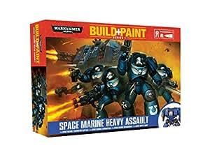 Warhammer 40k Build+Paint Space Marine Heavy Assault