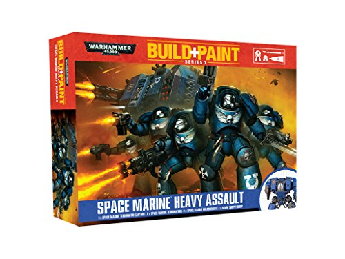 Space Marine Heavy Assault Build + Paint Warhammer (Space Marine Terminator)