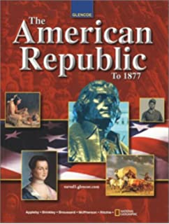 American Republic to 1877, Activity Workbook, Student