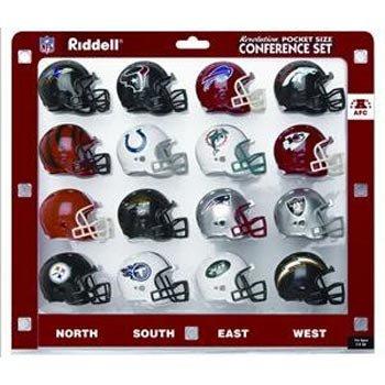 Riddell NFL Revolution Pocket Pro AFC Conference Set