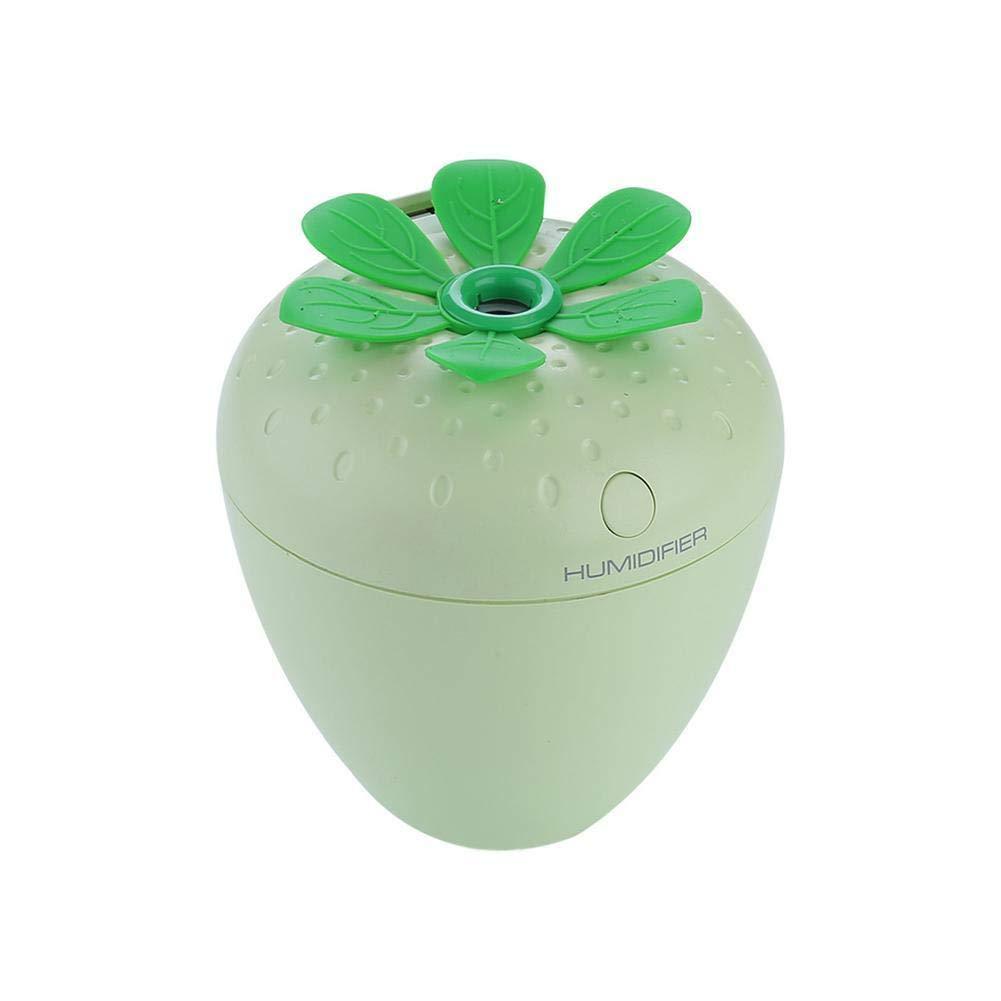 BleuMoo 180ml mini humidifier USB diffuser air Ultrasonic humidifier air Aroma diffuser mist maker (Green)