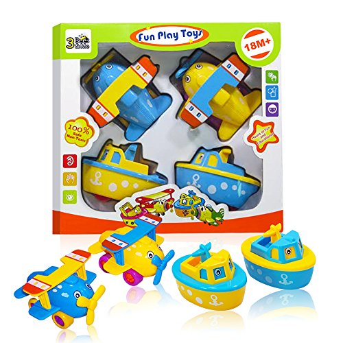 Bath Toys For Boys : Fun bath toys for boys and girls boats planes