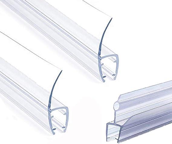 "3//8"" x 39"" Shower Door Sweep Frameless Glass 3-Pack Shower Door Bottom Seal"