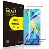 IVSO 2 Pack Screen Protector for Galaxy Note 10 +/Plus,Full Coverage Case Friendly and Bubbles Free Scratchproof Tempered Glass,Easy Installtion Compatible with Samsung Galaxy Note 10+/Plus