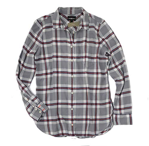 J.Crew - Women's - Plaid Long Sleeve Flannel Boy Shirt for sale  Delivered anywhere in USA