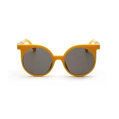 Alger Lunettes de soleil mode Vintage Style rond cadre polarisé UV400 unisexe conduite lunettes de voyage , G