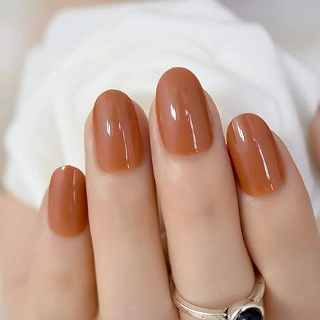 Health & Beauty Beautiful 600x Short/medium Length Square Full Cover False Nails Tips Natural Uk Seller Bright In Colour