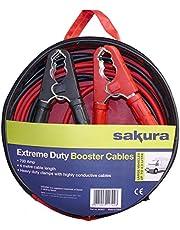 Top Deal on Sakura Booster Cables, 700 Amp 4 metres