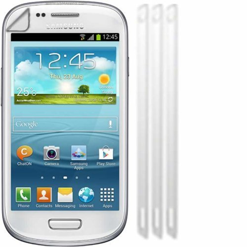 Screen Protector Guards For Samsung©I8190 Galaxy S III S3 Mini / Pack of 3 - Mini I8190 Screen Protector