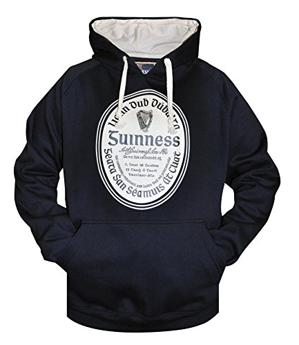 Guinness Label Pullover Hoodie, XX-Large