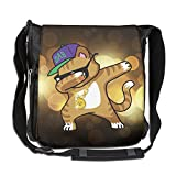 NYYSBU Crossbody Messenger Bag Cat Cap Hip Hop Shoulder Tote Sling Postman Bags One Size