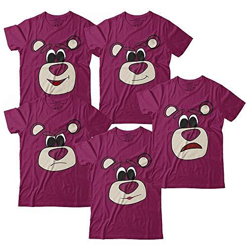 Hugging Bear Faces Shirt Toy Costume Halloween Matching Customized Handmade T-Shirt Hoodie/Long Sleeve/Tank Top/Sweatshirt -
