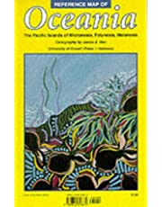 Reference Map of Oceania: The Pacific Islands of Micronesia, Polynesia, Melanesia