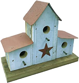 product image for Small Double Lean-to Bird House in Barn Wood