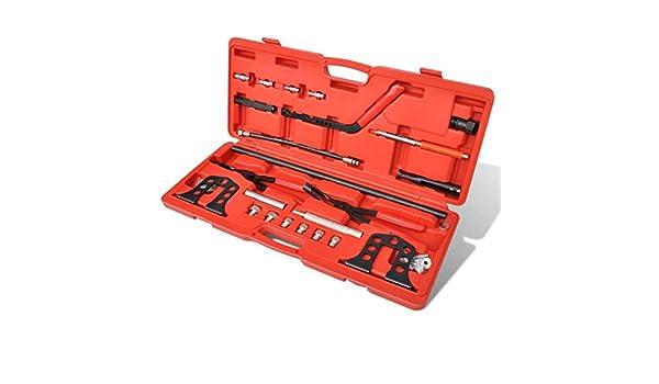 Lingjiushopping Pro Cilindro Kit de Extractor de Compresor de Muelle de Valvula Aplicable para motores de gasolina o de diesel de OHV y OHC de los ...