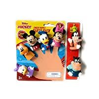 Finger Puppets Disney Mickey Mouse & Friends Party Pack 7 Puppets !!!