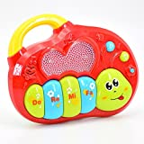 Animal Farm Musical Electronic Organ with Dynamic Light Early Educational Toy for Boys and Girls